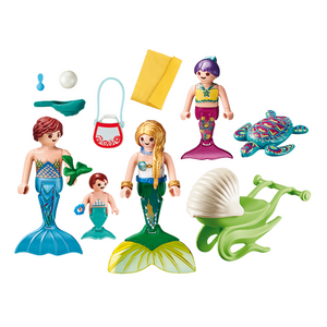 Playmobil Mermaid Family
