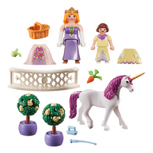 Load image into Gallery viewer, Playmobil Princess Unicorn Carry Case