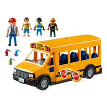 Load image into Gallery viewer, Playmobil School Bus
