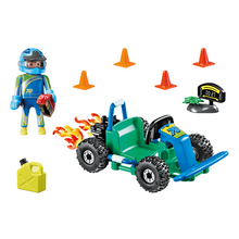 Load image into Gallery viewer, Playmobil Go-Kart Racer Gift Set
