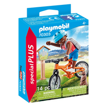 Load image into Gallery viewer, Playmobil Mountain Biker