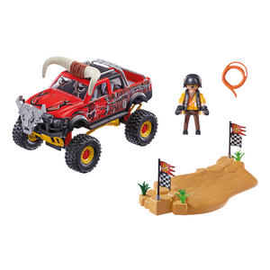 Playmobil Stunt Show Bull Monster Truck