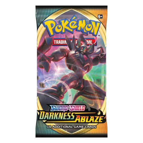 Pokemon Sword & Shield Darkness Ablaze Booster Pack