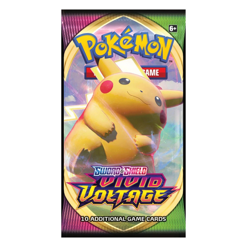 Pokemon Sword & Shield: Vivid Voltage Booster Pack