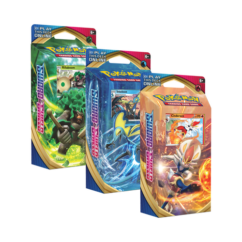 Pokemon Sword & Shield Theme Deck