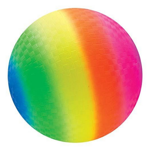 Rainbow Rubber Ball