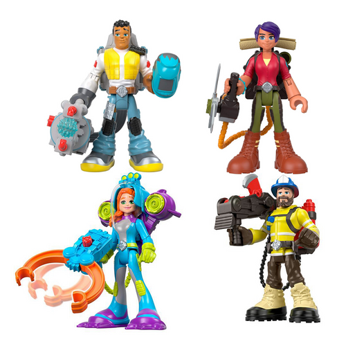 Rescue Hero Figures