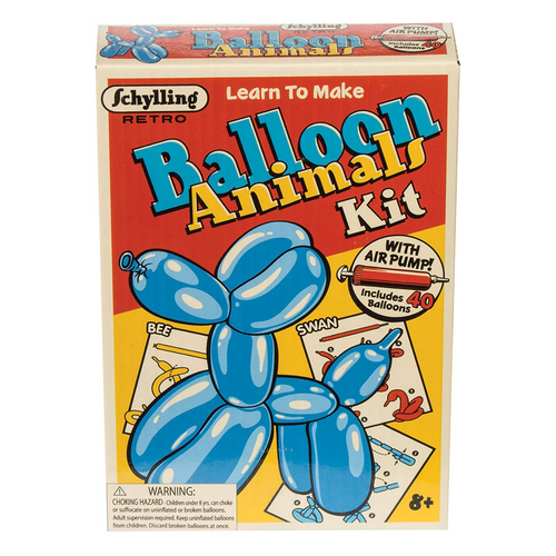 Retro Balloon Animal Kit