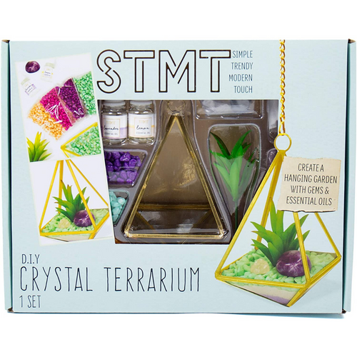 Crystal Terrarium Set