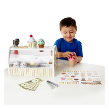 Load image into Gallery viewer, Child playing with ice cream counter
