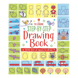 Step-by-Step Drawing Book - activity book cover