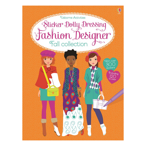 Sticker Dolly Dressing Fashion Designer: Fall Collection