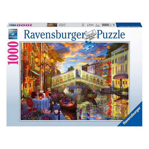 Sunset over Rialto 1000-Piece Puzzle