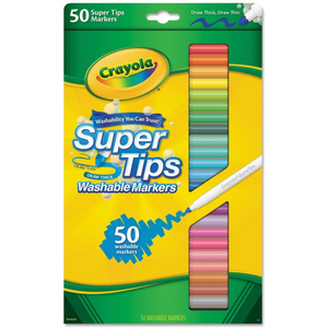 Super Tip Markers 50 Count