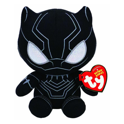 Beanie Babies Marvel Black Panther