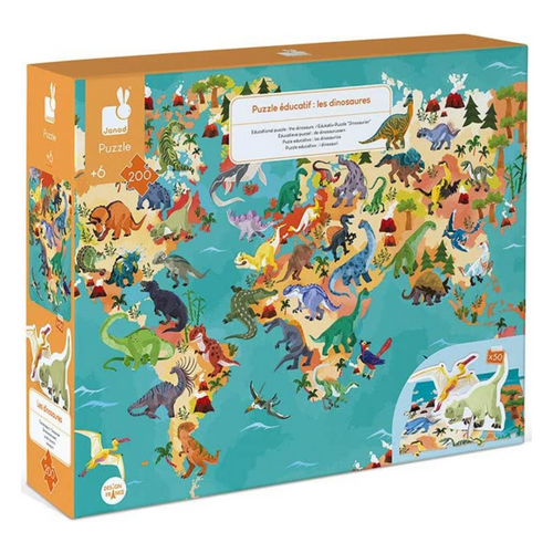 The Dinosaurs 200-Piece Puzzle