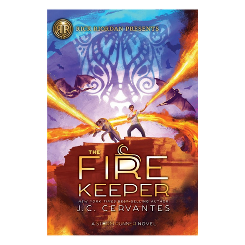 The Fire Keeper (A Storm Runner Novel, Book 2) - Paperback