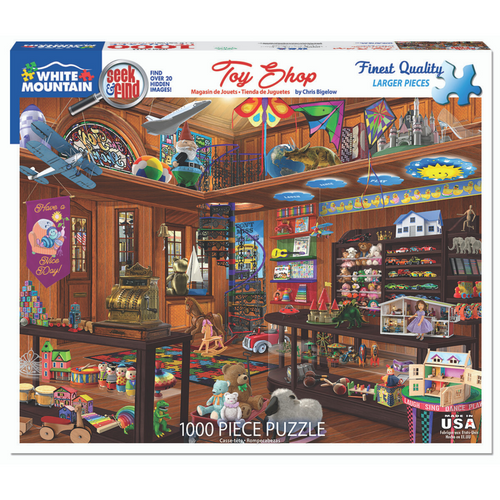 Toy Shop Seek & Find 1000-Piece Puzzle