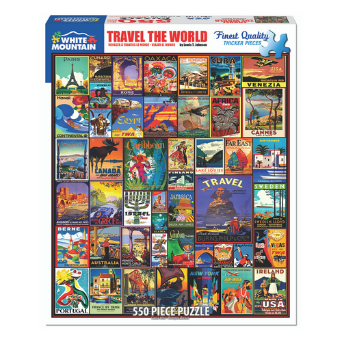 Travel the World 1000-Piece Puzzle