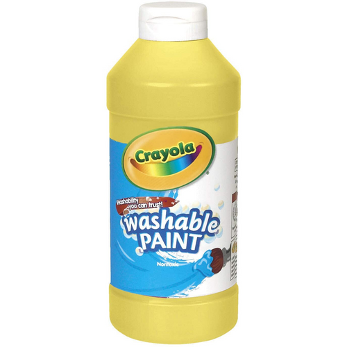 Washable Paint 16oz Yellow