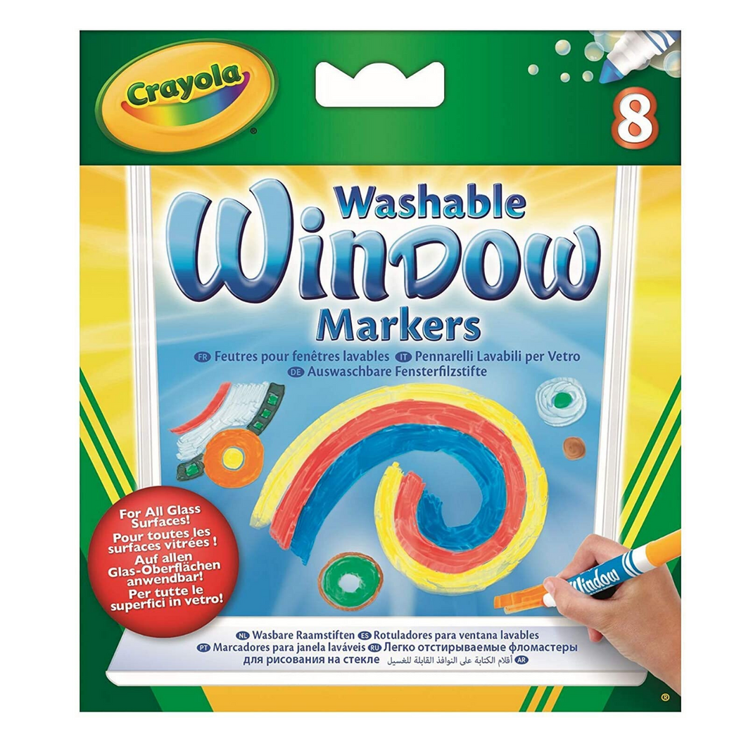 Washable Window Markers 8 Count