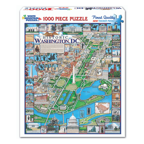 Washington, DC 1000-Piece Puzzle