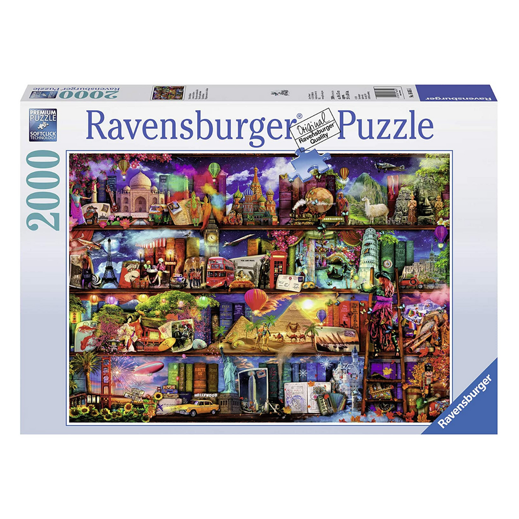World of Books 2000-Piece Puzzle