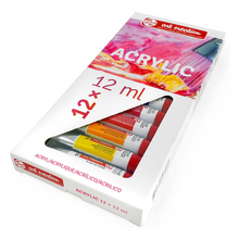 Load image into Gallery viewer, Acrylic Paints 12 Pack