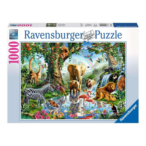 Adventures in the Jungle 1000-Piece Puzzle