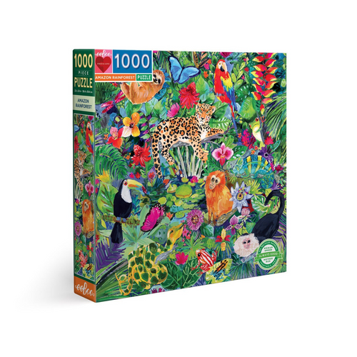 Amazon Rainforest 1000-Piece Puzzle
