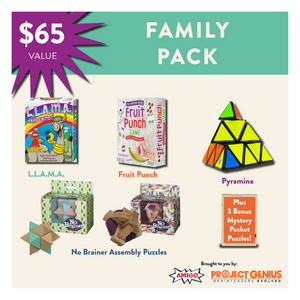 Family Pack of Games & Puzzles
