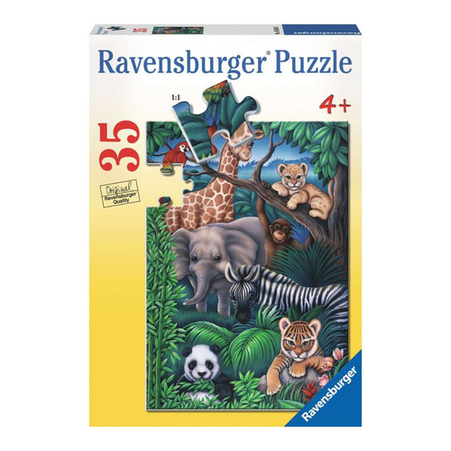 Animal Kingdom 35-Piece Puzzle