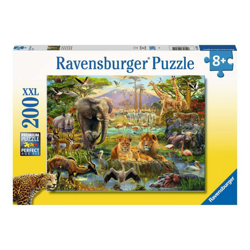 Animals of the Savanah 200-Piece Puzzle