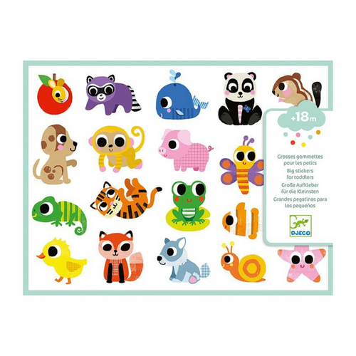 Baby Animals Big Stickers