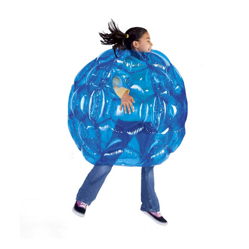 Girl inside BBOP ball