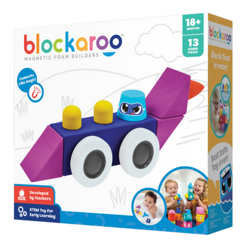 Blockaroo Magnetic Foam Builders