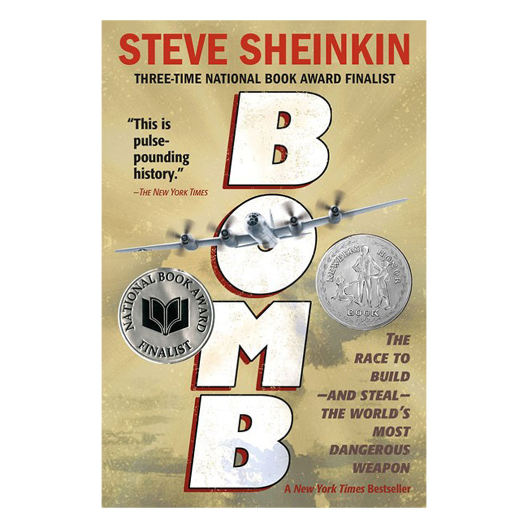 Bomb by Steve Sheinkin - book cover