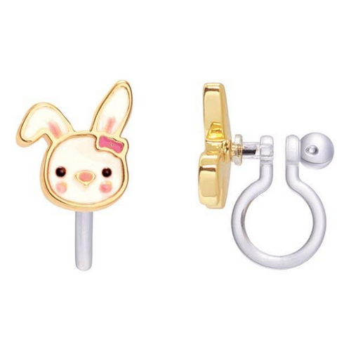 Bouncy Bunny Clip-On Earrings