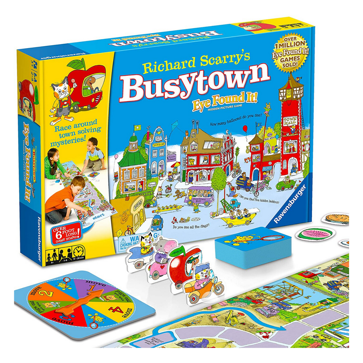 Richard Scarry's All the Colors of Busytown by Richard Scarry | 1200x1200