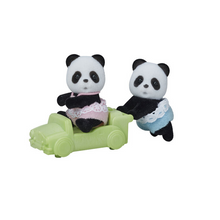 Load image into Gallery viewer, Calico Critter Wilder Panda Twins