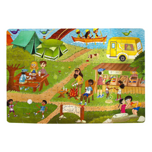 Load image into Gallery viewer, Camping Outdoors Jumbo 48-Piece Puzzle