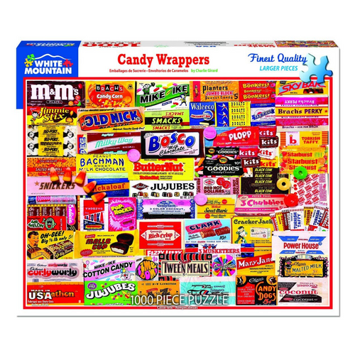 Candy Wrappers 1000-Piece Puzzle