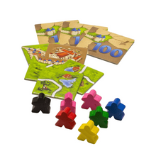 Load image into Gallery viewer, Carcassonne Inns & Cathedrals pieces