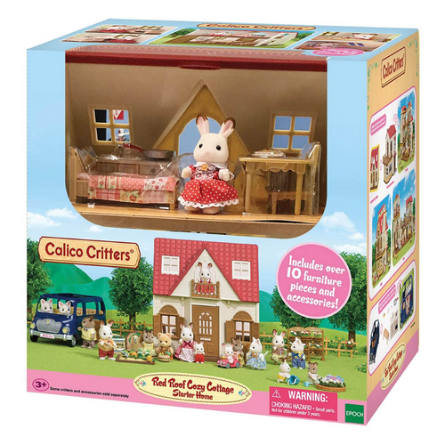Calico Critters - Red Roof Cozy Cottage