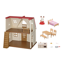 Load image into Gallery viewer, Calico Critters - Red Roof Cozy Cottage