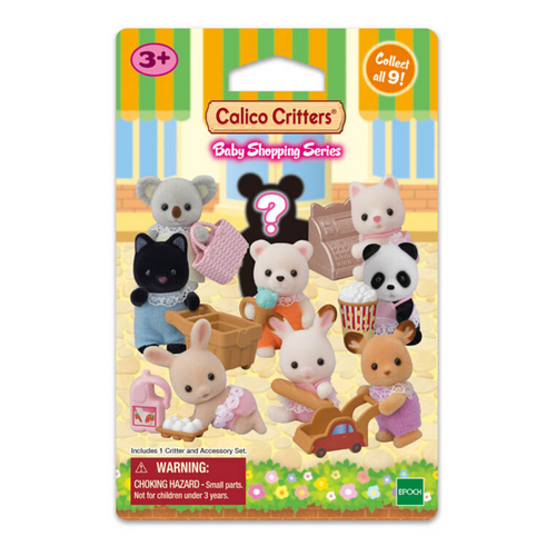 Calico Critters Blind Bag - Baby Shopping Series