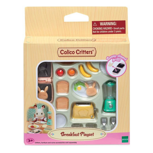 Calico Critters - Breakfast Playset