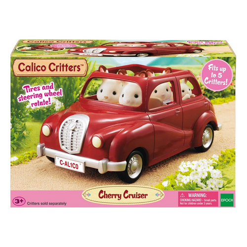 Calico Critters - Cherry Cruiser