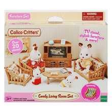 Load image into Gallery viewer, Calico Critters - Comfy Living Room Set