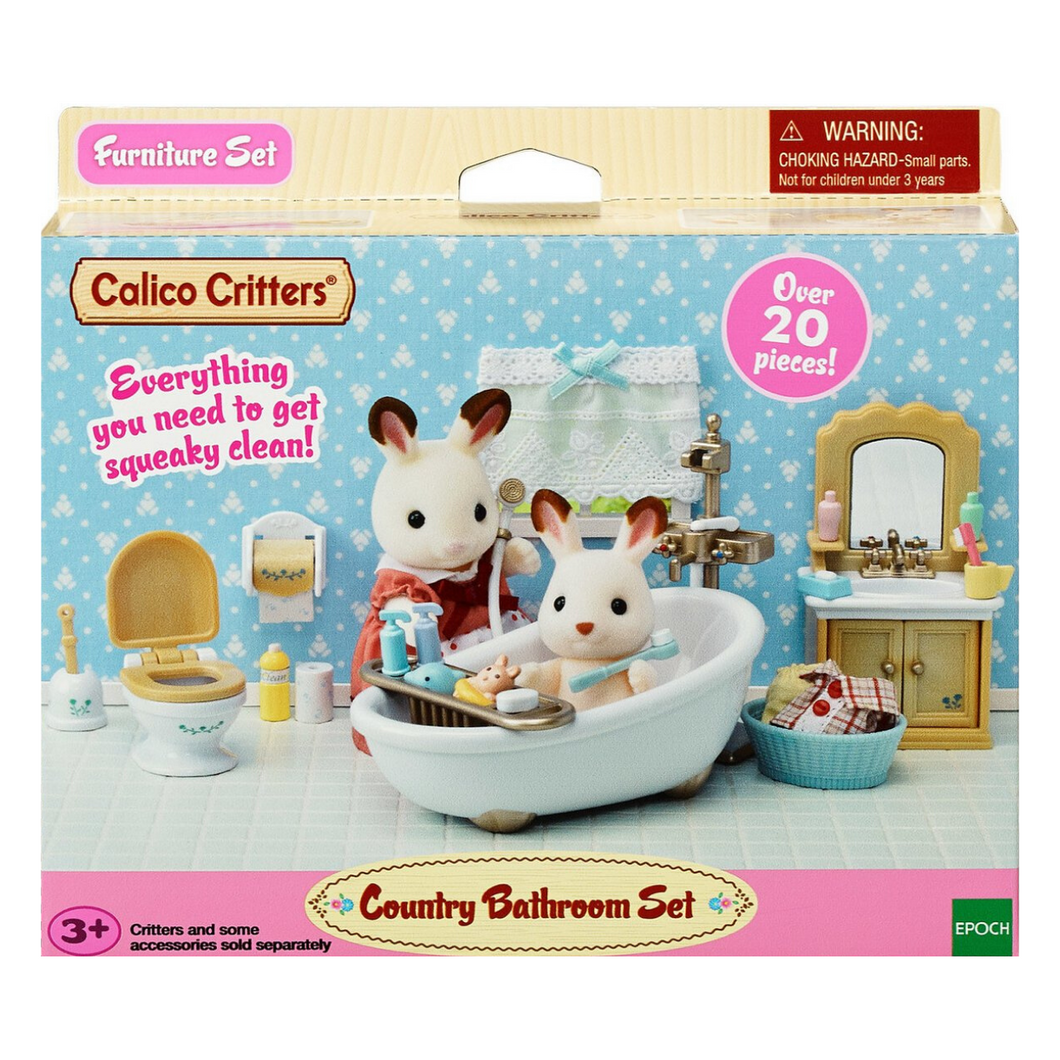 Calico Critters - Country Bathroom